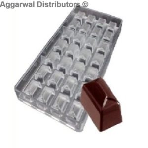Chocolate Square V Type Mould