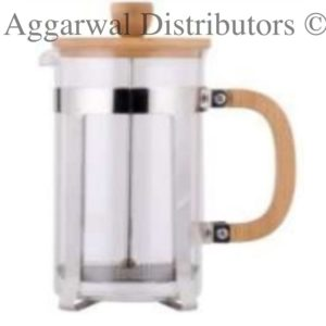 Coffee Plunger-350 Ml [Wooden]