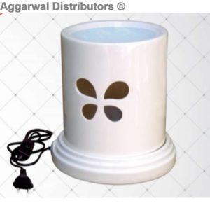 Iris Electrical vaporizer lamp-White