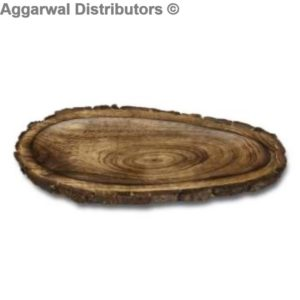 Log Platter small. 14 by 9 600