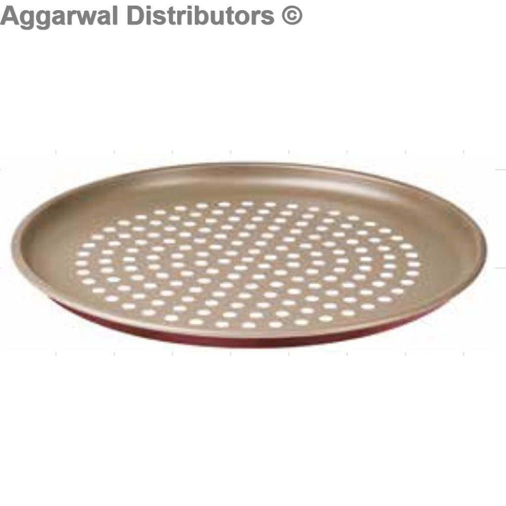Tramotina Pizza Roasting with Holes-30 cm