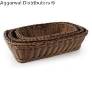 Polyrattan Basket recta