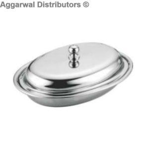 Premium Entrée Dish Oval Big - 19x15x3.5 cms