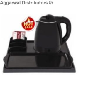Room Tray Set With Kettle