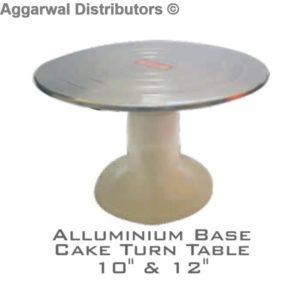 Aluminium Base Cake Turn Table