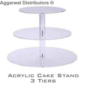 Acrylic cake stand 3 Tiers