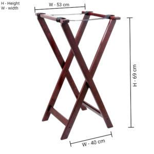 Tray jack wooden