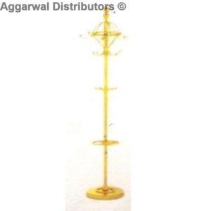 Umbrella Stand Ht-6.5 ft-Brass