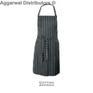 Coat Apron Black Lines