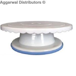 Plastic Rotating Cake stand