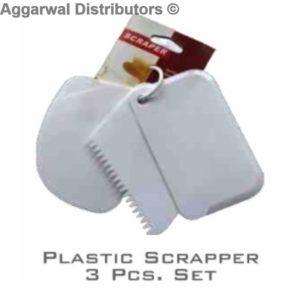 Plastic scrapper