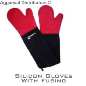 Silicon Gloves with Fusing