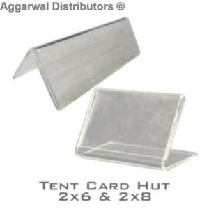 Tent Card Hut