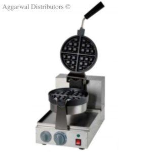 wafle baker rotary round