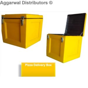 Yellow Delivery Box Flat
