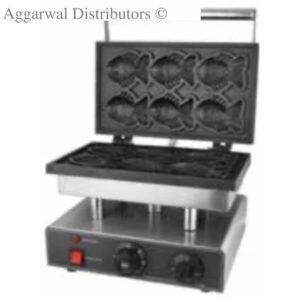 Fish Waffl e Maker Size: 380×270×270mm Power: 1.5Kw