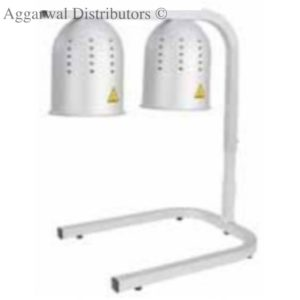 Food Warming Lamps (Silver) SIze: 425 × 350 × 780 mm Power: 250w × 2