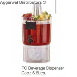 PC Beverage Dispenser Cap.: 6.6Ltrs