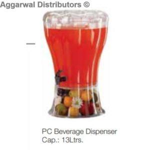 Regency PC Beverage Dispenser Cap.:13 Ltrs