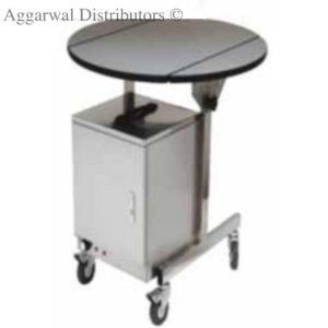 Regency Room Service Cart W/ Hot Case