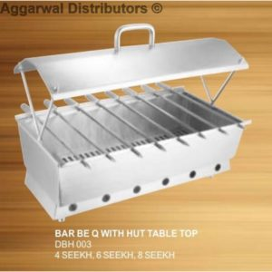 Barbeque with Hut Table Top