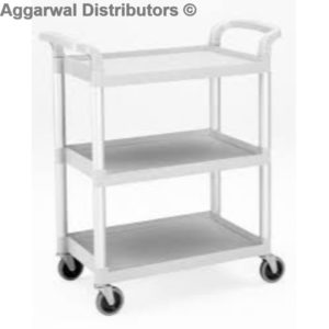 ABS Trolly White 3 Tier