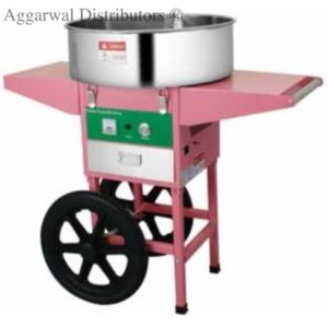 Candy Floss W/Cart Size: 935×520×890mm Power: 1.03Kw