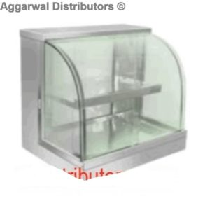Curved Glass Hot Case-24x18x21
