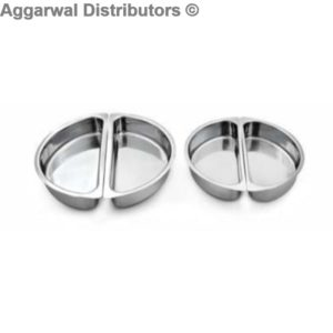Anthem-HM 8 Half Moon Partition Pans (Fits in all round 7 Ltrs. Chafing Dishes)
