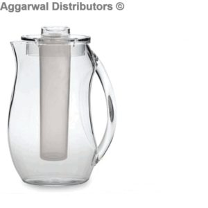 Polycarbonate Jug with Ice