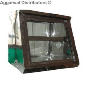 Slant Glass Hot Case-24x18x21