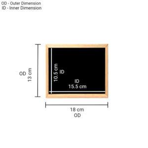 Writing Board 13x18cm