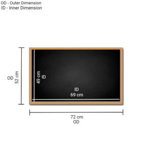 Writing Board 72x52cm