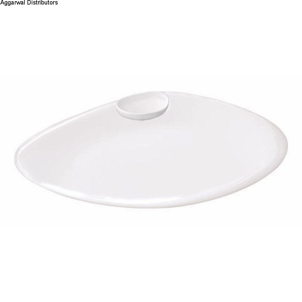 Clay Craft Chip N Dip Sizzle Platter 1
