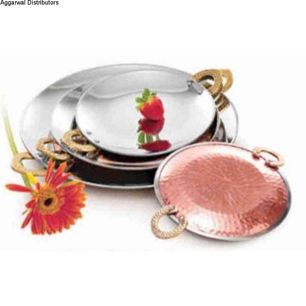 La Coppera Serving Tawa / Round Platter LC-101 1