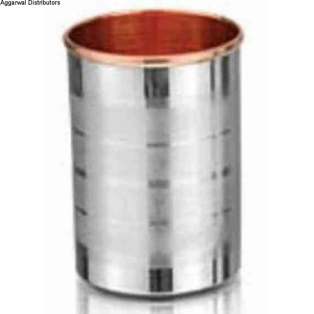 La Coppera copper Silver Touch SS Copper Glass-LC-307 1