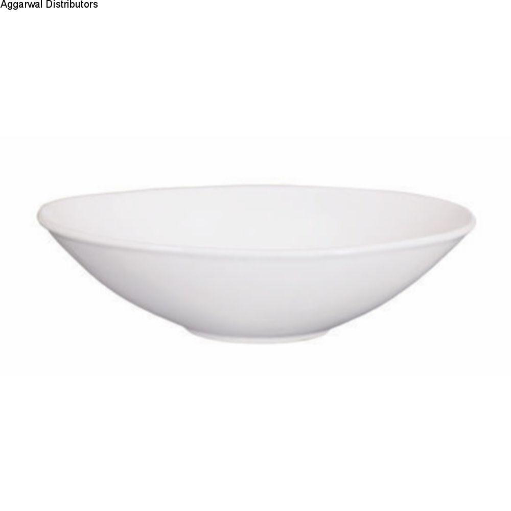 Clay Craft Oval Bowl 1/2 Por 1
