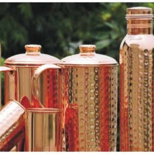 Copper Jugs and Glasses