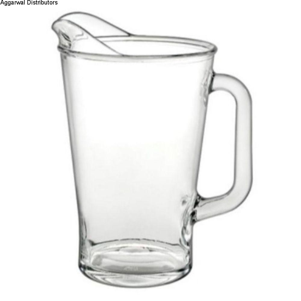 Borgonovo Glass Conic Jug 1800 Beer Pitcher 1