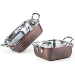 Steel Portion Bowls