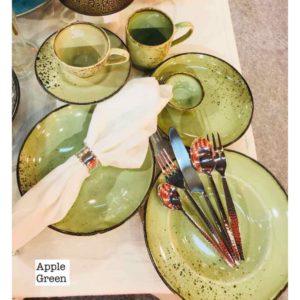 Ceramic Dinnerware Coloured