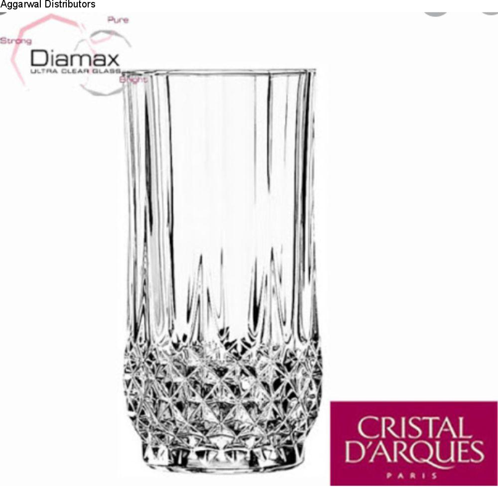 Cristal D'Arques Longchamp Highball 280Ml 6 Pcs Set G5157 L7554 1