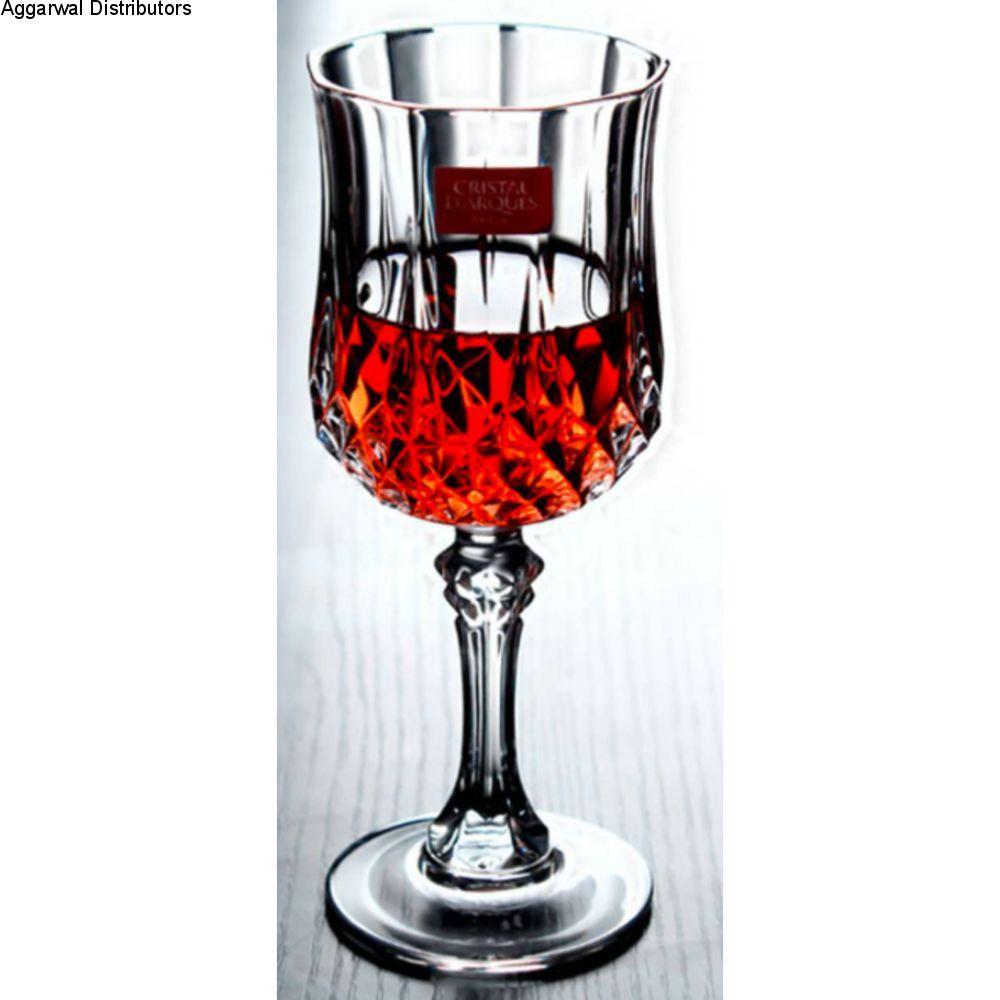 Cristal D'Arques Longchamp Goblet 250ml 6 Pcs Set G5186 L7550 1