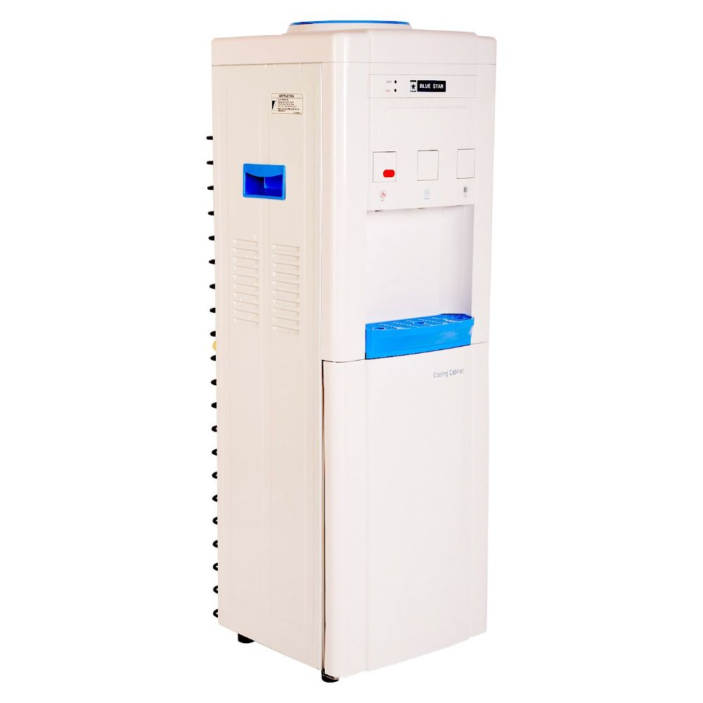 Blue Star Floor Standing Water Dispenser with Refrigerator BWD3FMRUA 1