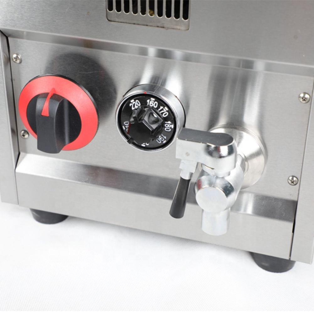 Gas fryer Temperature Control