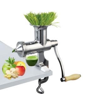 Wheatgrass juicer stainless steel