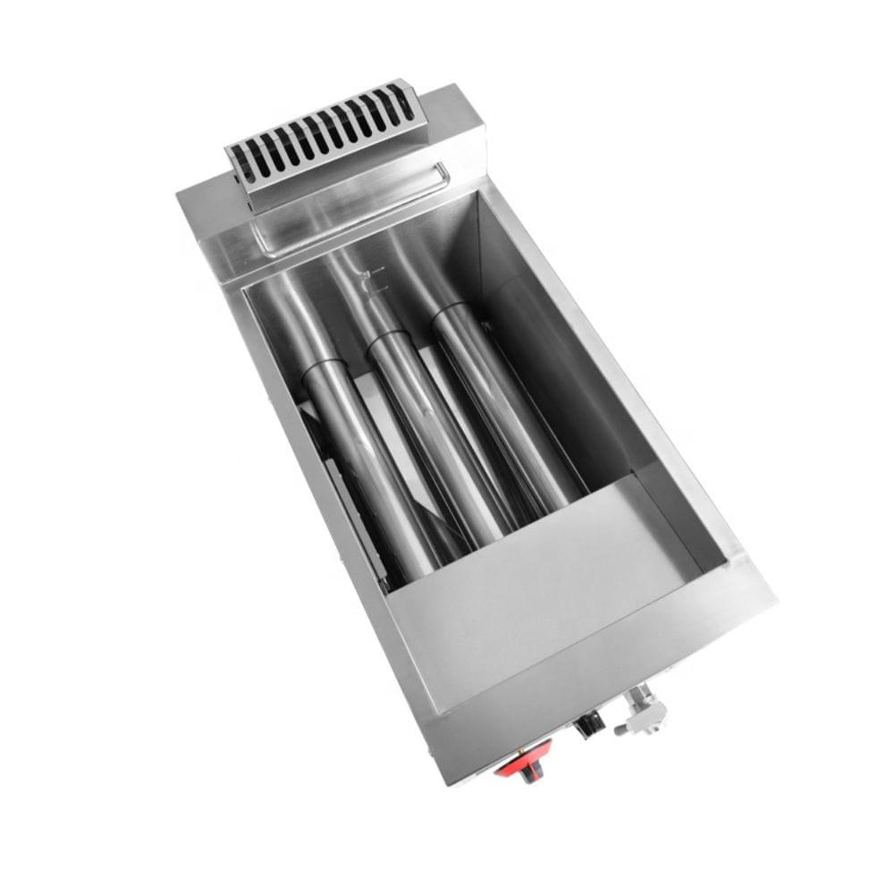 gas fryer ( Three Gas Efficient Burner )