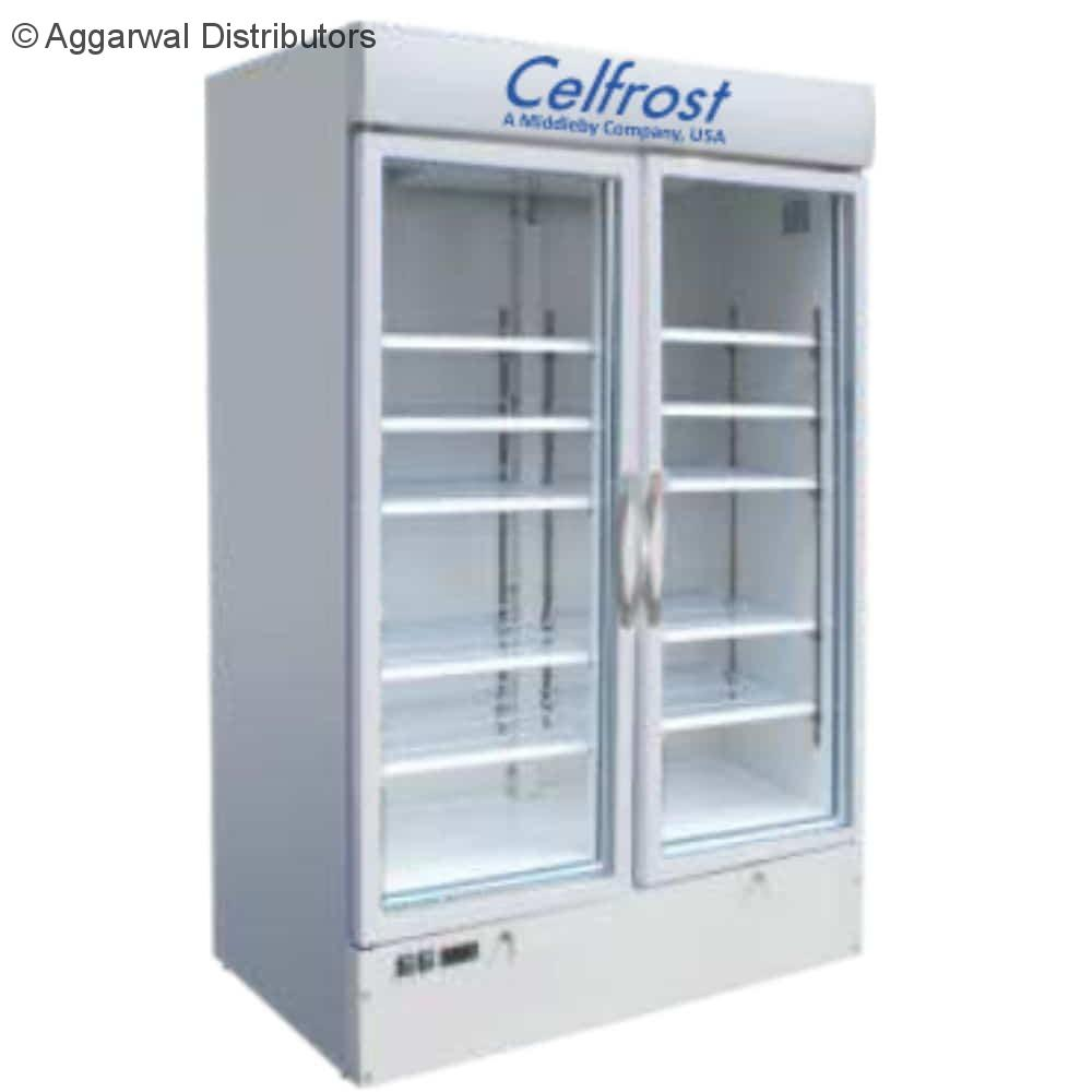 Celfrost Double Door Upright Showcase Cooler FKG 600 DD