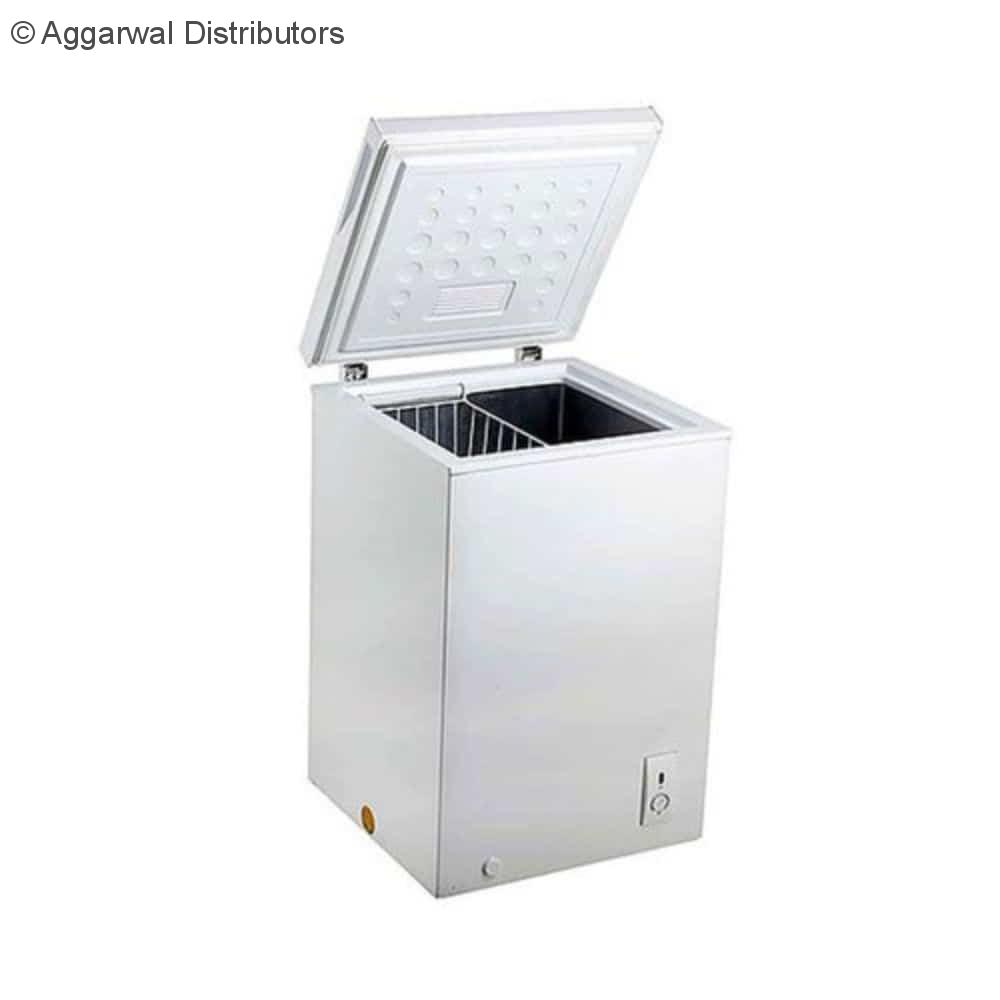 Celfrost Single Lid Hard Top Chest Freezer Cooler CF 60 Ltrs