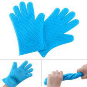 Silicone Gloves Blue